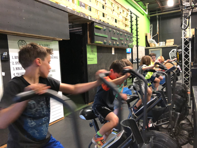 Kids hard at work during OCRA After School program